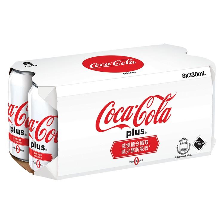 可口可樂 - 加系-膳食纖維無糖汽水 - 330MLX8