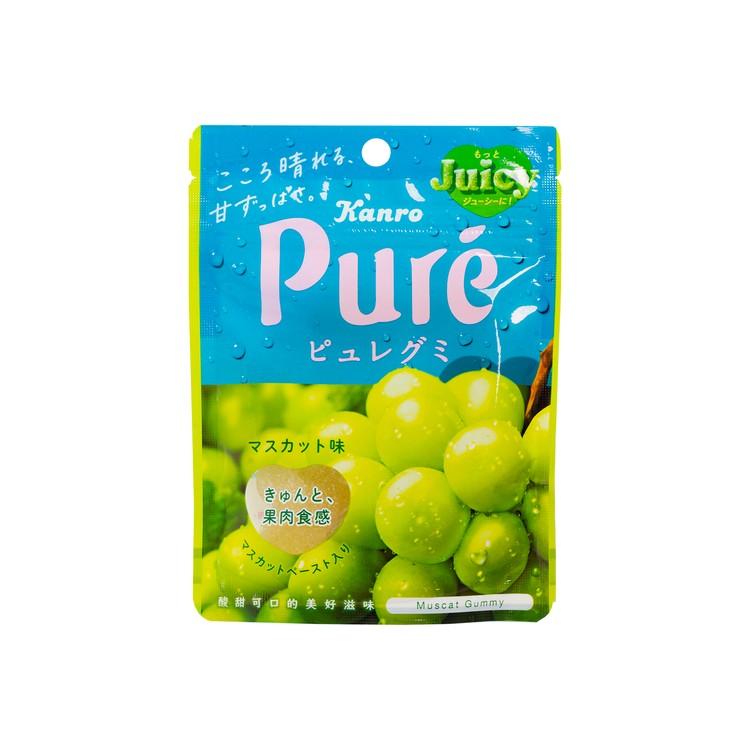 甘樂 - PURE橡皮糖-青提子味 - 56G