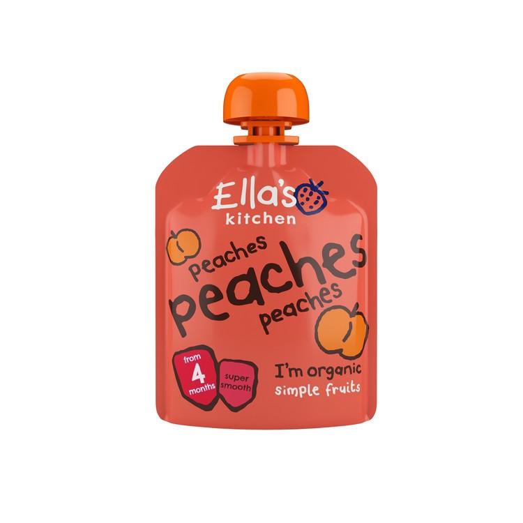 ELLA'S KITCHEN - ORGANIC PEACHES SMOOTHIE FRUIT FIRST TASTE - 70G