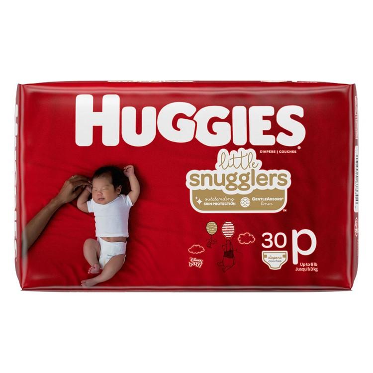 HUGGIES - 早產嬰兒專用尿片 - 30'S