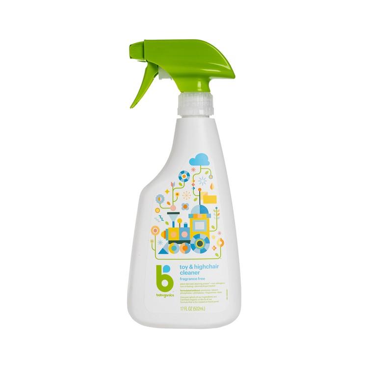 BABYGANICS(平行進口) - 玩具枱椅清潔劑-無香味 - 502ML