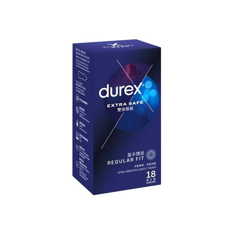 DUREX - EXTRA SAFE CONDOM - 18'S