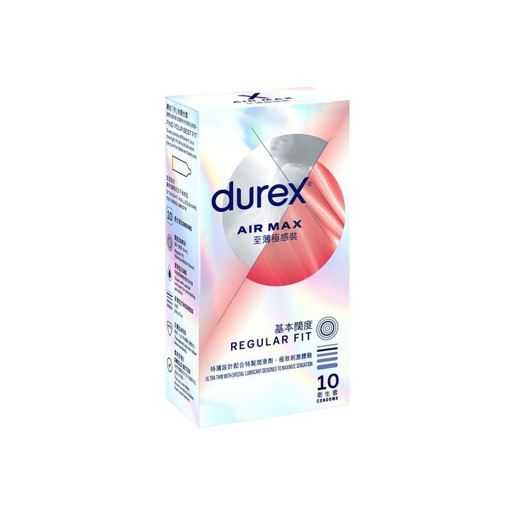 DUREX - AIR MAX CONDOM - 10'S