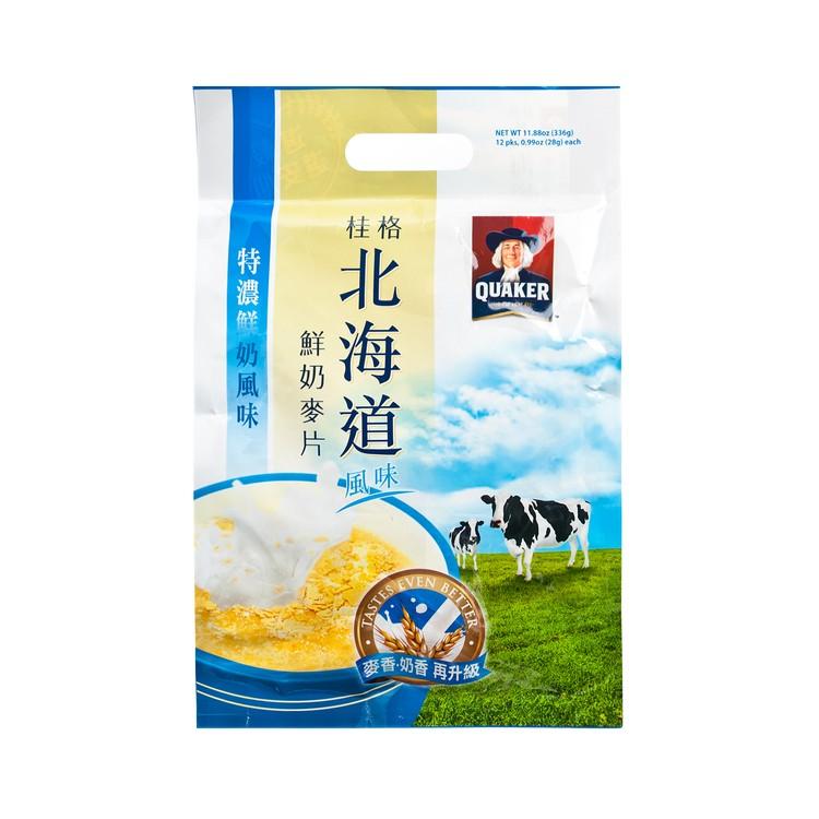 桂格 - 穀珍系列-北海道特濃鮮奶 - 28GX12