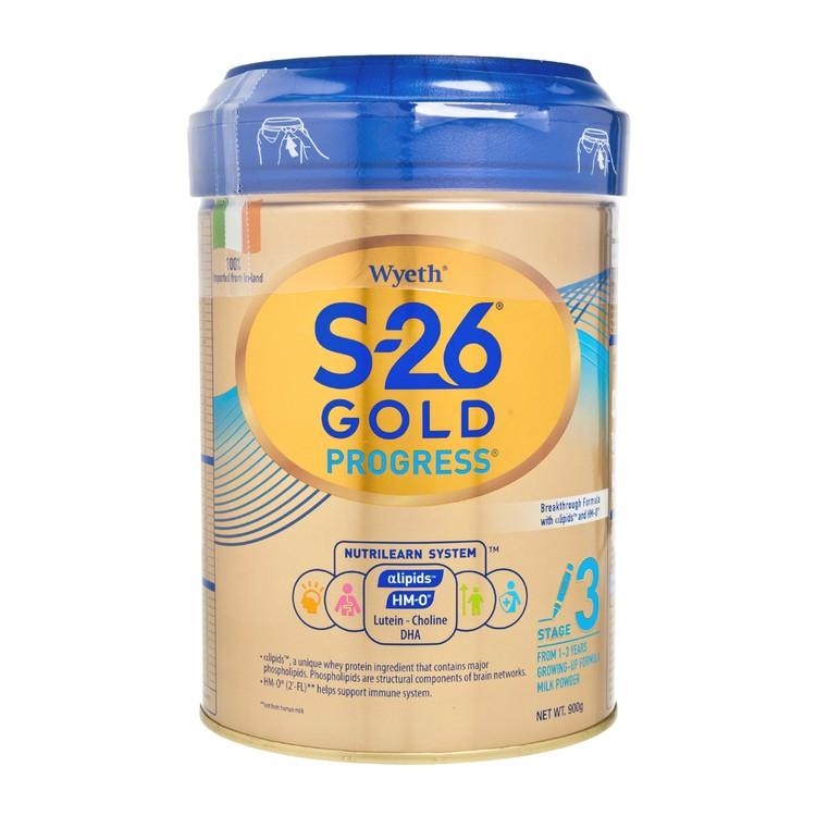 惠氏 - S-26® GOLD 3號 - 900G
