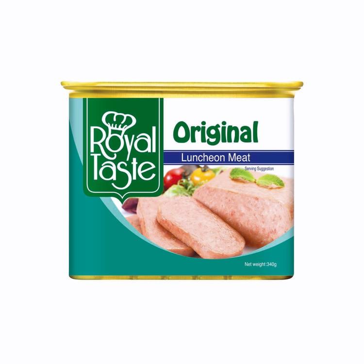ROYAL TASTE - LUNCHEON MEAT-ORIGINAL - 340G