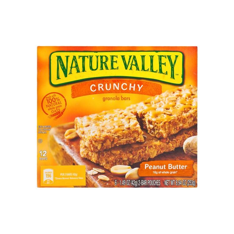 NATURE VALLEY - 天然營養脆條-花生醬 - 253G