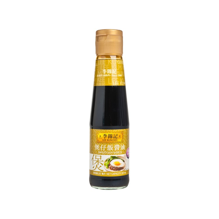 LEE KUM KEE - SWEET SOY (NO PRES & MSG) - 207ML
