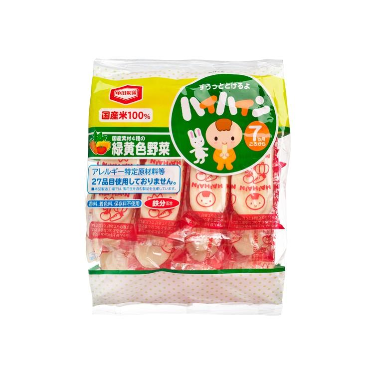 KAMEDA 龜田 - BB米餅-蔬菜味 - 53G