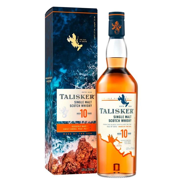 TALISKER - 威士忌-10 YEARS - 70CL