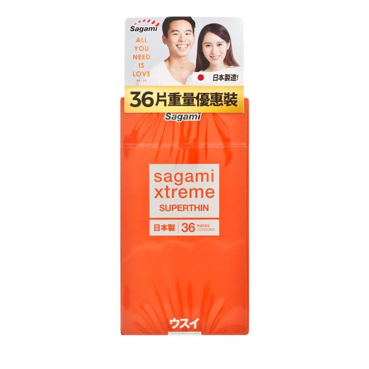 SAGAMI - XTREME SUPERTHIN PACK - 36'S