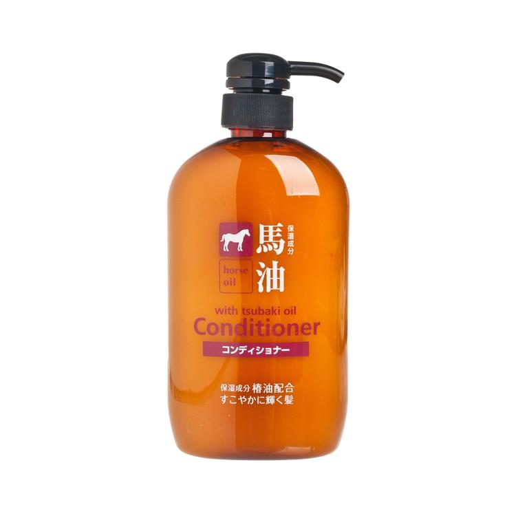 熊野 - 馬油保濕護髮素 - 600ML
