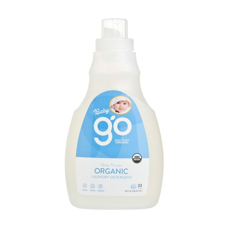 GREEN SHIELD - 有機嬰兒洗衣液-爽身粉味 - 50OZ