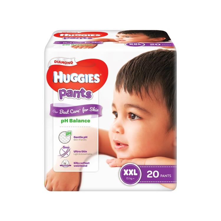 HUGGIES - DIAMOND親膚學習褲(加加大碼) - 20'S