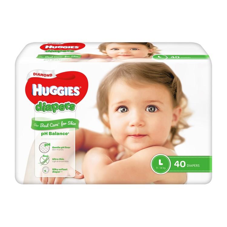 HUGGIES - DIAMOND親膚紙尿片(大碼) - 40'S