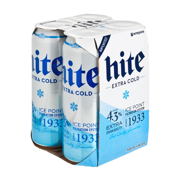 HITE - BEER-1933 (KING CAN) - 500MLX4