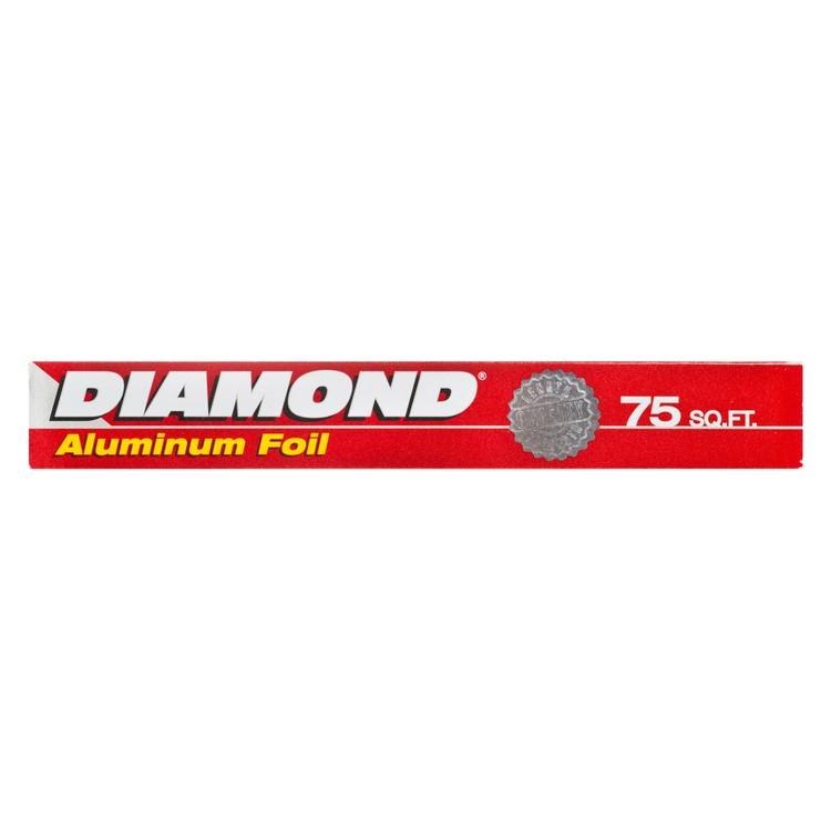 "DIAMOND - ALUMINUM FOIL - 12""X75FT"