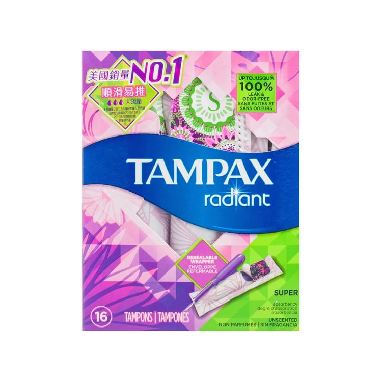 TAMPAX - TAMPON SUPER FLOW - 16'S