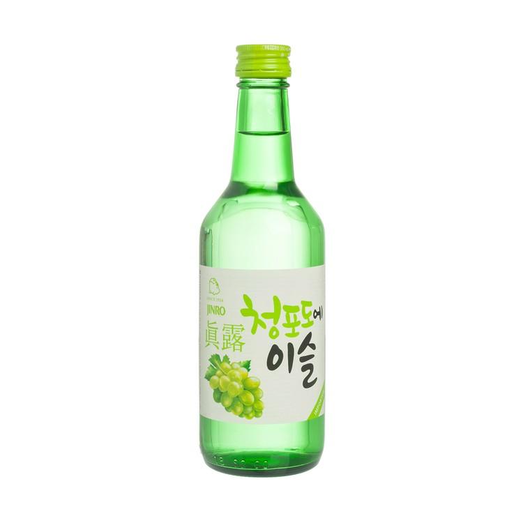 JINRO - SOJU - GREEN GRAPE - 360ML