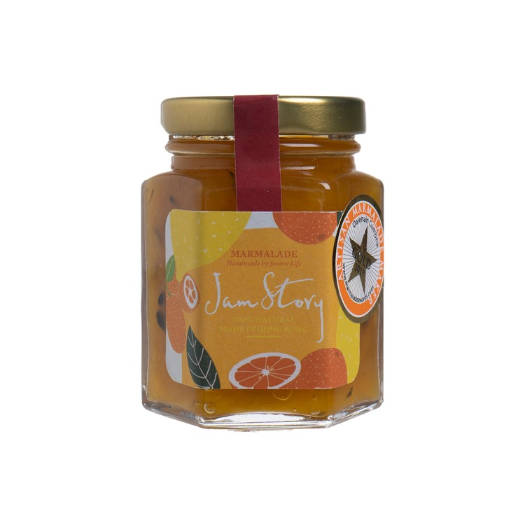 果醬二三事 - 得獎果醬系列-香橙芒果熱情果百里香果醬 - 100G