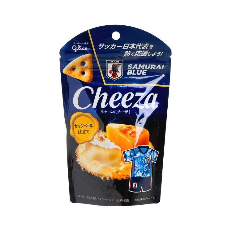 GLICO - CHEESE CHIPS-CAMEMBERT CHEESE  - 40G