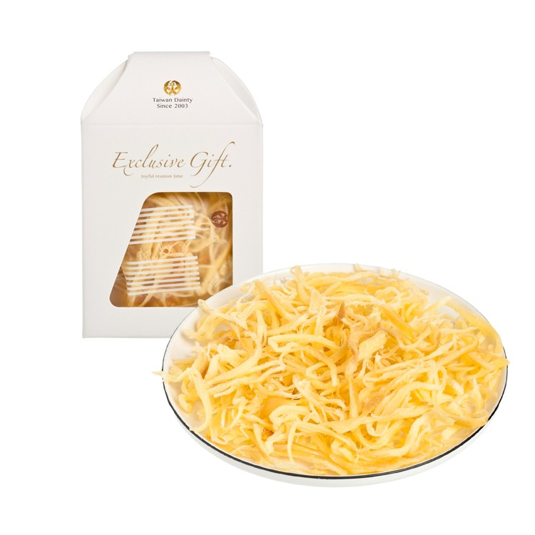 DAINTIEST - ORIGINAL DRIED CHEESE STRIPS - 16GX4