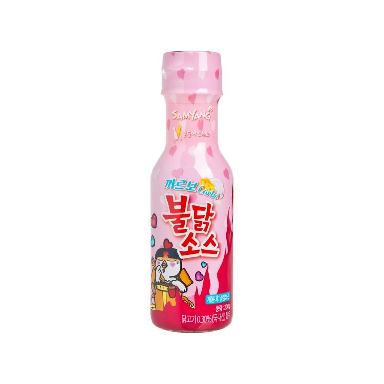 三養 - 醬汁-卡邦尼火辣雞肉味 - 200G