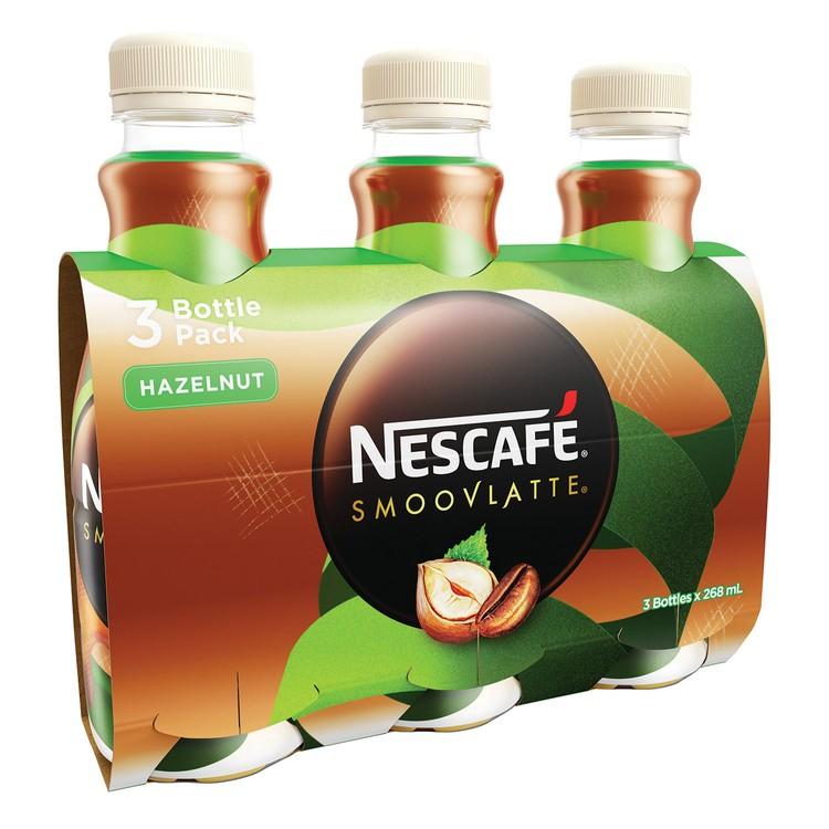 NESCAFE 雀巢 - 絲滑榛子味咖啡 - 268MLX3