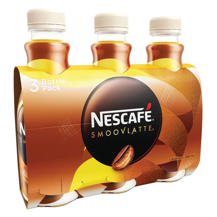 NESCAFE 雀巢 - 絲滑牛奶咖啡 - 268MLX3