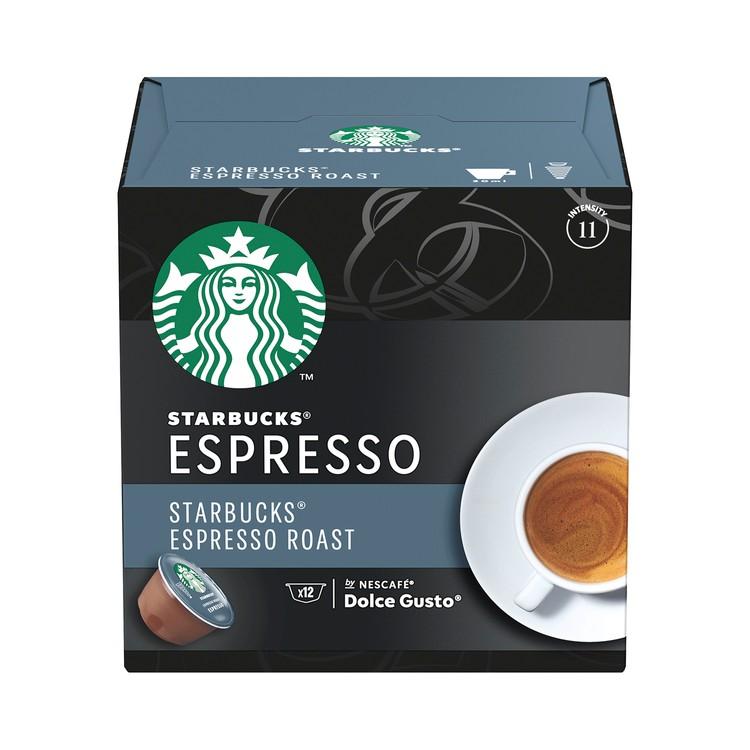 STARBUCKS - ESPRESSO ROAST DARK ROAST COFFEE CAPSULES - 12'S
