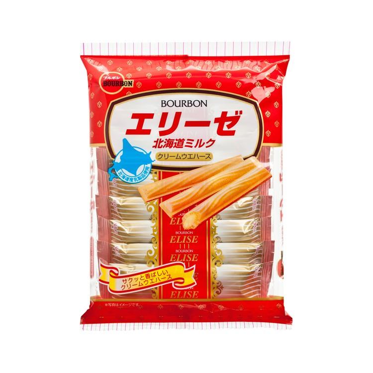 BOURBON 百邦 - 北海道牛奶味曲奇卷 - 185G