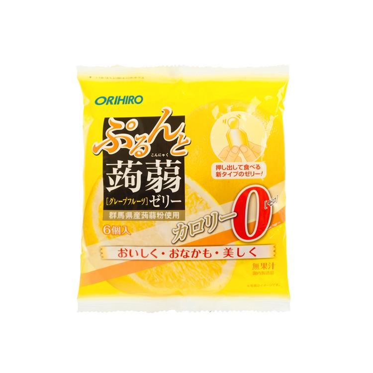 ORIHIRO - 蒟蒻啫喱-西柚味 (0卡路里) - 120G