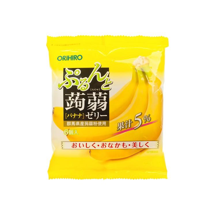 ORIHIRO - 蒟蒻啫喱-香蕉味 - 120G