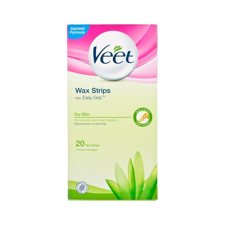 VEET - WAX STRIPS WITH EASY GRIP(DRY SKIN) - 20'S