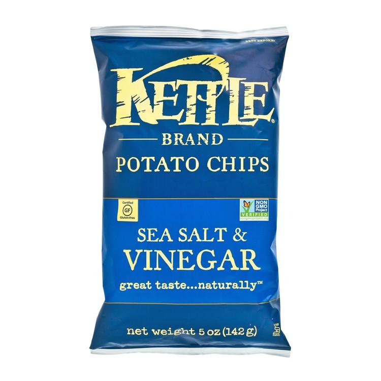 KETTLE - 天然手製薯片-海鹽香醋 - 5OZ