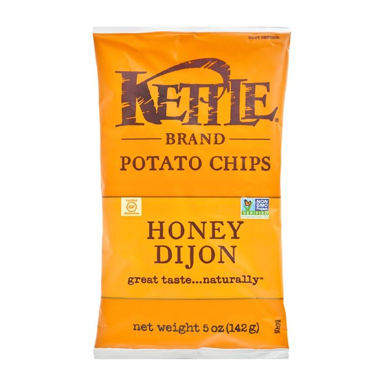 KETTLE - 天然手製薯片-法式芥末蜜糖味 - 5OZ