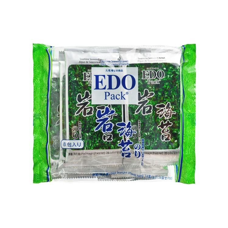 EDO PACK - SEASONED SEAWEED (LAVER) - 2GX8