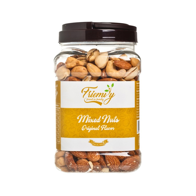 FRIEMILY - MIXED NUTS-UNSALTED - 450G