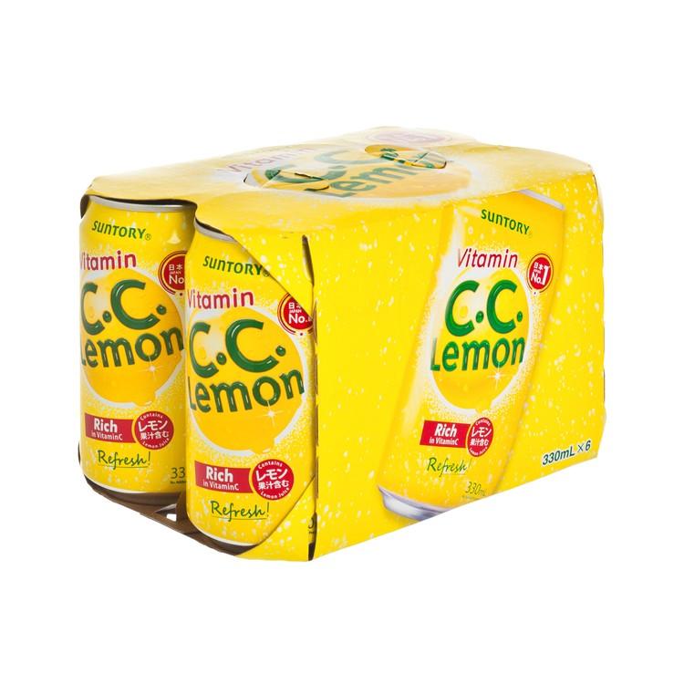 三得利 - C.C. LEMON 有氣檸檬味飲品 - 330MLX6