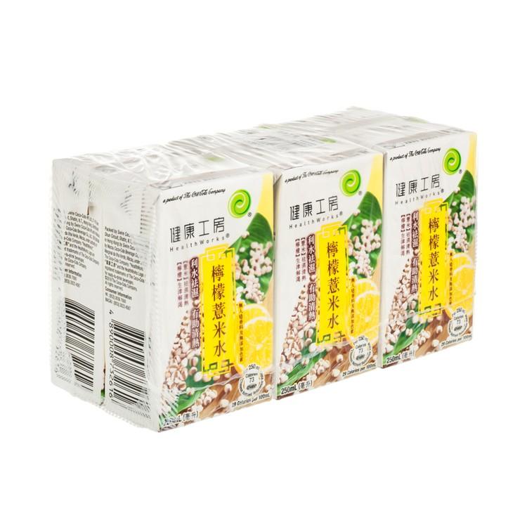 健康工房 - 檸檬薏米水 - 250MLX6