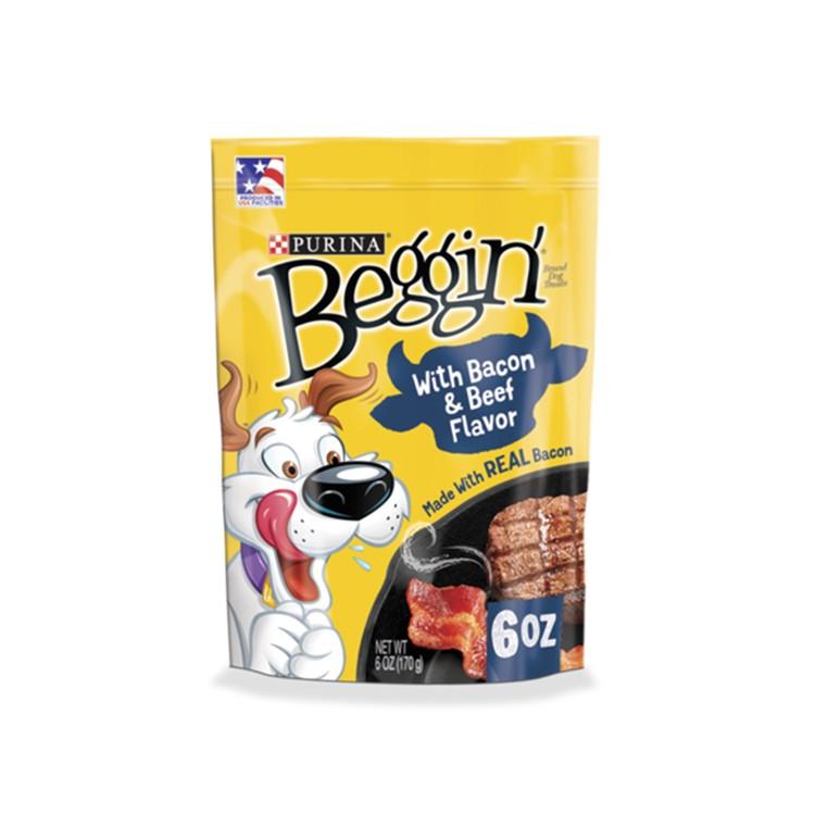BEGGIN STRIPS - BACON BEEF - 6OZ