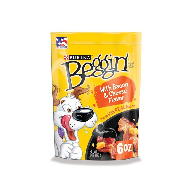 BEGGIN STRIPS - (狗用)芝士煙肉條 (新舊包裝隨機發送) - 6OZ