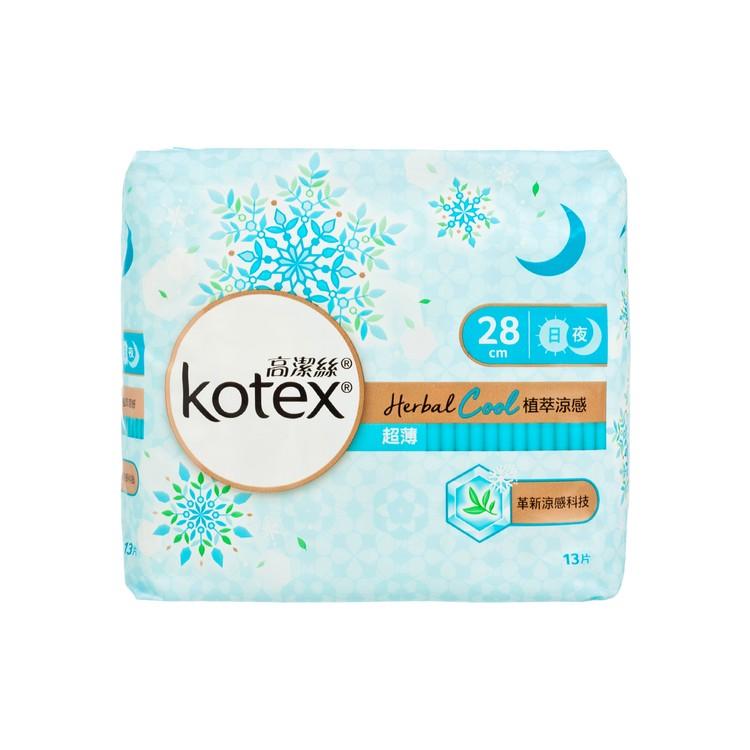 KOTEX - HERBAL COOL UW NW 28CM - 13'S