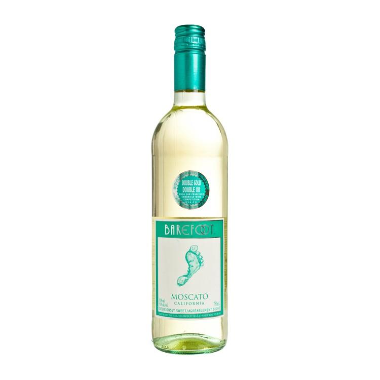 BAREFOOT - 白酒-莫斯卡托-微甜 - 75CL