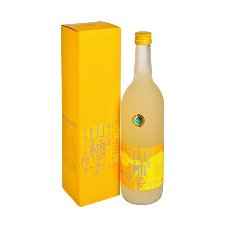 司牡丹 - 柚子酒-山柚子 - 720ML