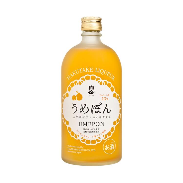白岳 - 梅酒 - 720ML