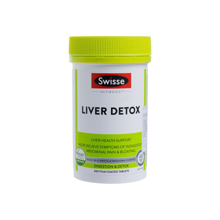 SWISSE(PARALLEL IMPORT) - ULTIBOOST LIVER DETOX - 200'S