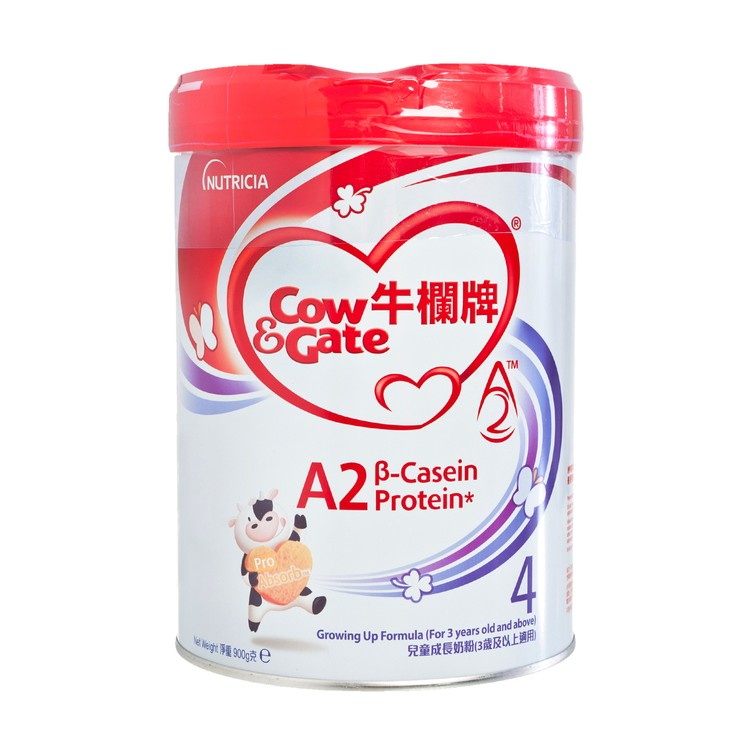COW & GATE - A2 β CASEIN PROTEIN GROWING UP FORMULA #4 - 900G