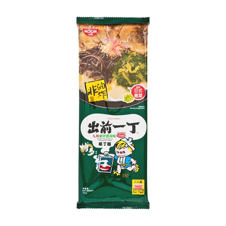 出前一丁 - 棒丁麵-九州豬骨濃湯味 (附加日式高菜) - 181G