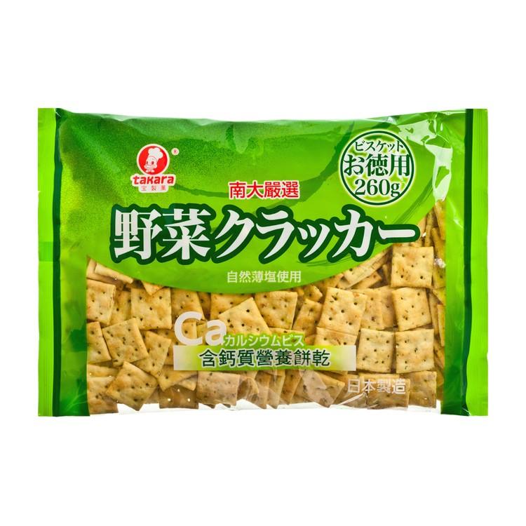 TAKARA - VEGETABLE BISCUIT-HIGH CALCIUM - 260G